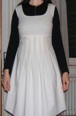 Violettes Kleid PrM vorne