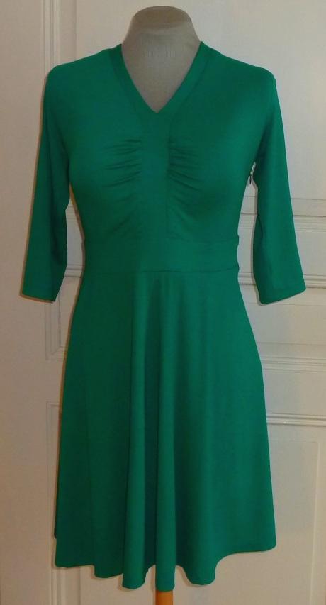 Jerseykleid grün ftg Bü